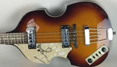 Beatles Paul McCartney Signed Autographed Hofner Left Bass Guitar JSA Ciazzio