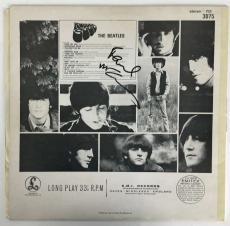 Beatles Paul McCartney Signed Autographed Rubber Soul Album Beckett BAS Tracks