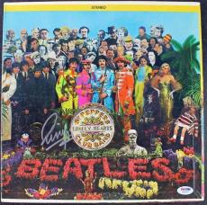 Beatles Ringo Starr Authentic Signed Sgt Peppers Lhcb Album Psa/dna Coa W04897