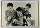 Beatles Signed Autographed 34x36 Photograph Lennon McCartney Harrison Caiazzo