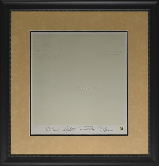 Beatles – White Album Autograph Framed