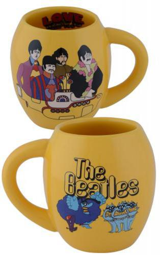 Beatles Yellow Submarine 18 oz. Oval Mug