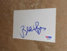 Beau Bridges Signed Rare! 3x5 Index Card Autographed Psa/dna Cert #q33415