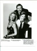 Beau & Jeff Bridges Michelle Pfeiffer The Fabulous Baker Boys Press Movie Photo
