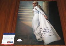 Beautiful Emilia Clarke Signed 11x14 Game of Thrones PSA/DNA