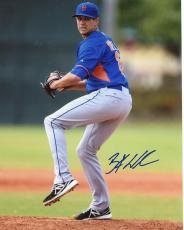Beck  Wheeler   New  York  Mets     Signed Autographed  8x10 Photo W/coa