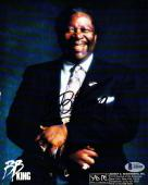 Beckett-bas Bb King Autographed-signed Photo-photograph A06280 B. B. King