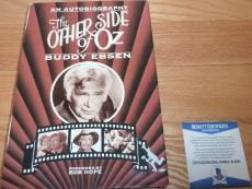 Beckett-bas Buddy Ebsen Autographed-signed The Other Side Of Oz Book B24696