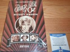 Beckett-bas Buddy Ebsen Autographed-signed The Other Side Of Oz Book B75010