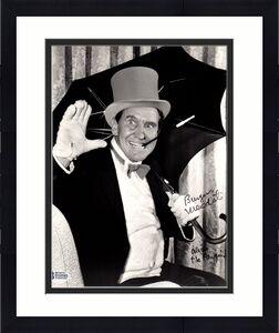 "Beckett-bas Burgess Meredith ""penguin"" Autographed-signed Batman 8x10 Photo 0585"