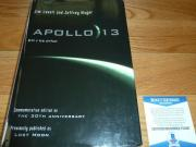 Beckett-bas Captain Jim-james Lovell Autographed-signed Apollo 13 H/c Book 59387