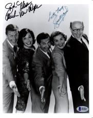 Beckett-bas Dick Van Dyke & Rose Marie Dual Autographed-signed 8x10 Photo B24057