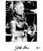 Beckett-bas John Glenn Autographed-signed 8x10 Nasa Photo-photograph C14009