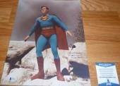 "Beckett-bas Kirk Alyn Inscribed ""superman"" Autographed-signed 11x14 Photo C77245"