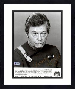 "Beckett-bas Star Trek Deforest Kelley ""dr. Mccoy"" Signed 8x10 Photo-photograph 7"