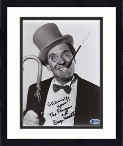 "Beckett Burgess Meredith ""the Penguin"" From Batman Signed 8x10 Photo U56549"
