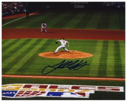 "Josh Beckett Boston Red Sox 2007 ALCS Autographed 8"" x 10"" Photograph"