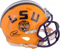 Odell Beckham Jr. LSU Tigers Autographed Riddell Mini Helmet