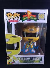 Becky G Signed Funko Pop Figurine Trini Yellow Power Rangers PSA DNA CERT #1