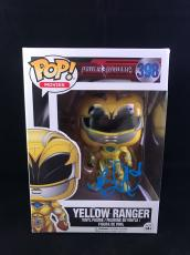 Becky G Signed Funko Pop Figurine Trini Yellow Power Rangers PSA DNA CERT #2?