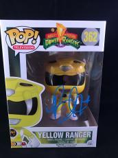 Becky G Signed Funko Pop Figurine Trini Yellow Power Rangers PSA DNA CERT #3