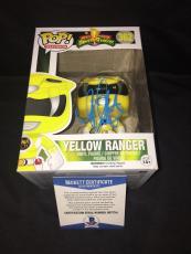 Becky G Signed Official Yellow Power Ranger Funko Pop Vinyl Figure Beckett