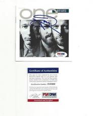 """BEE GEES BARRY GIBB signed autographed """"ONE"""" CD BOOKLET PSA/DNA COA"""