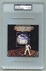 "BEE GEES BARRY GIBB signed autographed ""SATURDAY NIGHT FEVER"" CD PSA/DNA SLABBED"