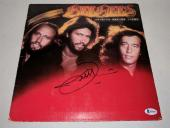 "BEE GEES BARRY GIBB signed autographed ""SPIRITS HAVING FLOWN"" LP RECORD BECKETT"