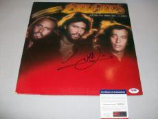 "BEE GEES BARRY GIBB signed autographed ""SPIRITS"" LP RECORD PSA/DNA COA"