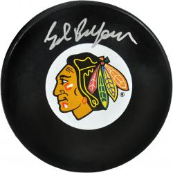 Ed Belfour Autographed Puck - Mounted Memories