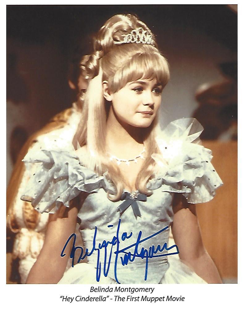 Belinda Montgomery As Cinderella In The 1969 Muppet Movie