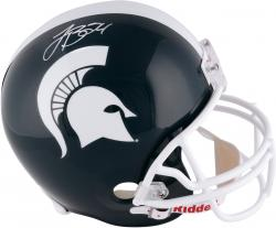 Le'Veon Bell Michigan State Spartans Autographed Riddell Replica Helmet