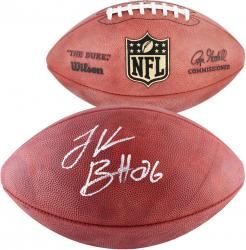 Le'Veon Bell Pittsburgh Steelers Autographed NFL Game Football