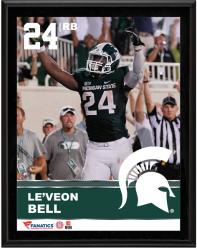 "Le'Veon Bell Michigan State Spartans Sublimated 10.5"" x 13"" Plaque"