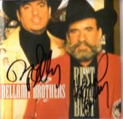 Bellamy Brothers Autographed Signed Best Of Best CDC UACC RD COA AFTAL