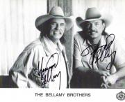 Bellamy Brothers Autographed Signed Photo UACC RD COA AFTAL