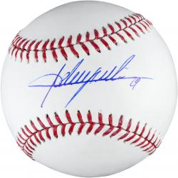 Adrian Beltre Autographed Baseball