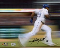 Adrian Beltre Texas Rangers Autographed 8'' x 10'' Motion Effect Photograph - Mounted Memories