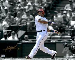 "Adrian Beltre Texas Rangers Autographed 11"" x 14"" Spotlight Photograph"