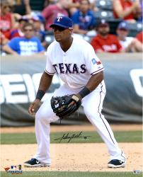 Adrian Beltre Texas Rangers Autographed 16'' x 20'' Field Position Photograph - Mounted Memories