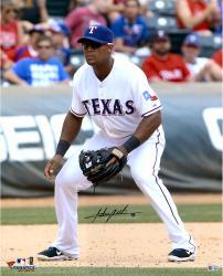 "Adrian Beltre Texas Rangers Autographed 16"" x 20"" Field Position Photograph"