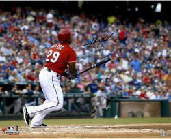 """Adrian Beltre Texas Rangers Autographed 16"""" x 20"""" Ball Watch Photograph"""
