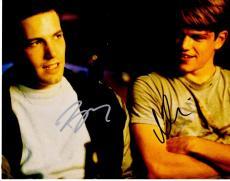 Ben Affleck and Matt Damon Signed - Autographed Good Will Hunting 11x14 inch Photo - Guaranteed to pass PSA or JSA