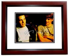 Ben Affleck and Matt Damon Signed - Autographed Good Will Hunting 11x14 inch Photo MAHOGANY CUSTOM FRAME - Guaranteed to pass PSA or JSA