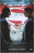 "Ben Affleck Autographed 11"" x 17"" Batman V Superman: Dawn of Justice Movie Poster"