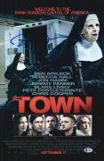 "Ben Affleck Autographed 12"" x 18"" The Town Movie Poster - BAS COA"