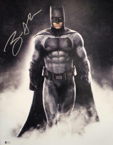 Ben Affleck Autographed/Signed Batman 16x20 Photo BAS 21514