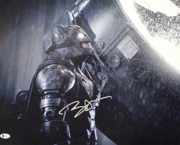 Ben Affleck Autographed/Signed Batman 16x20 Photo BAS 21515