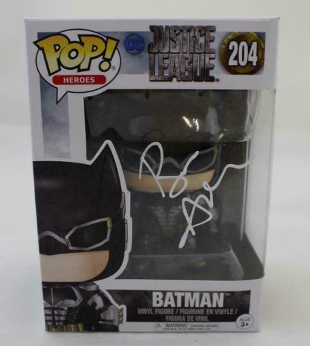 Ben Affleck Autographed/Signed Batman Funko Pop 204 BAS 21509